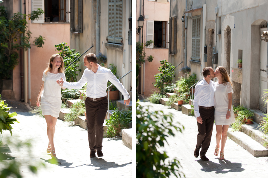 portrait de couple - séance engagement - Provence-Alpes-Côte d'Azur