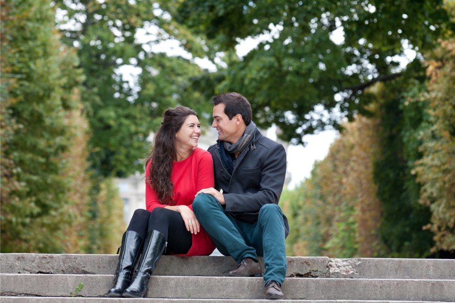 portrait de couple - séance engagement - Paris - ile de France - povince