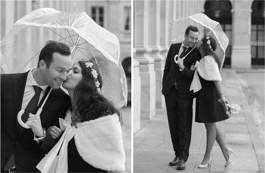 portrait-de-couple-seance-engagement-Paris-pluie