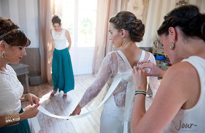 photographe mariage - jour-j-photographie - Lot-et-Garonne - Château de Poudenas -6