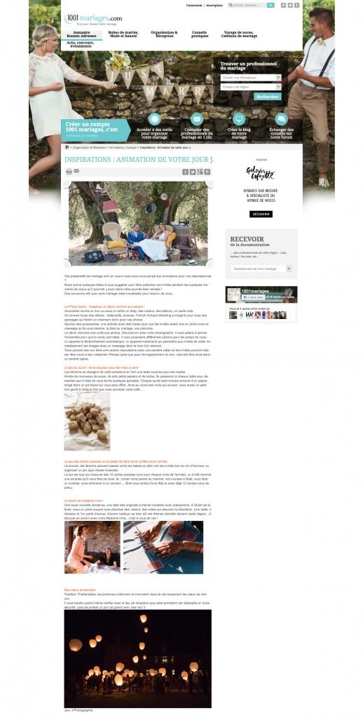 Publication - 1001mariages - jour-j-photographie