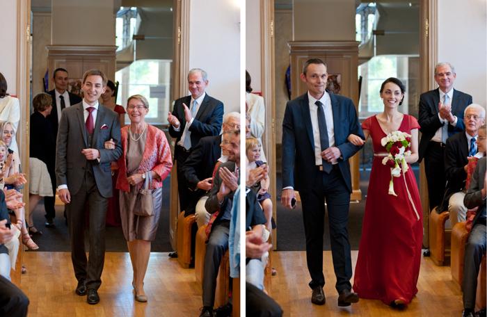 célébration d'un mariage au Mans