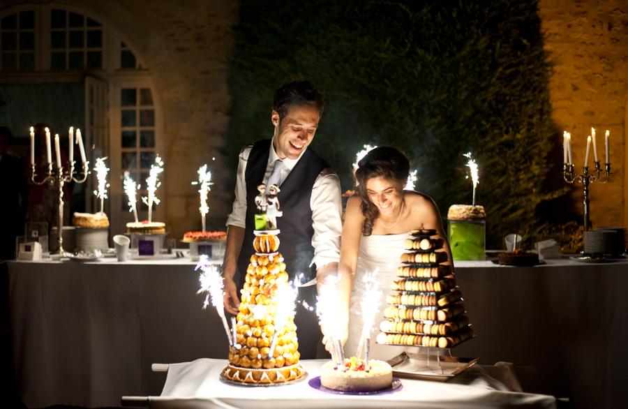 jour-j-photographie-photographe-soirée de mariage-pièce montée