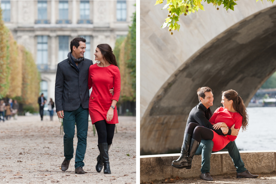 portrait de couple - séance engagement - Paris - ile de France - povince