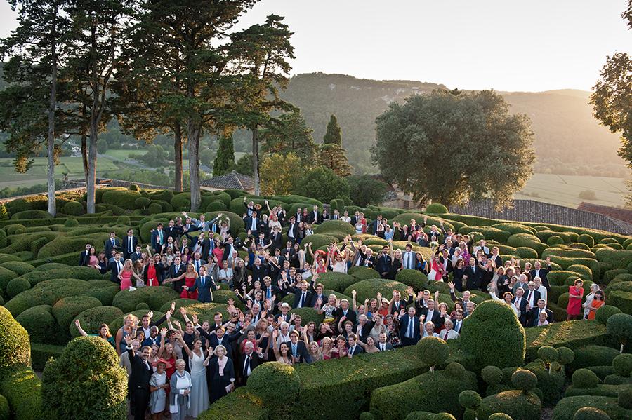 photographe - mariage- jour-j-photographie -sacha - heron - photo-groupe-marqueyssac