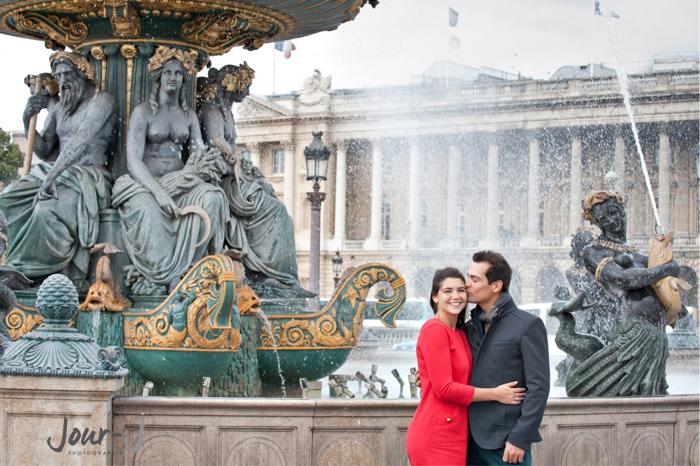 portraits-couple-paris-concorde -Séance de portraits dans Paris