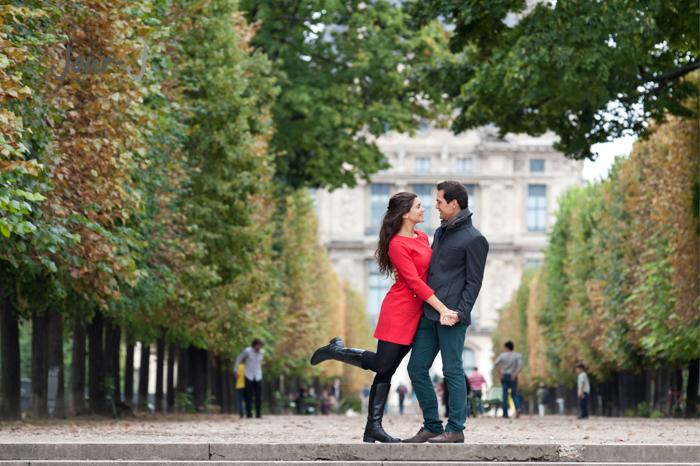 seance-engagement-paris-Séance de portraits dans Paris