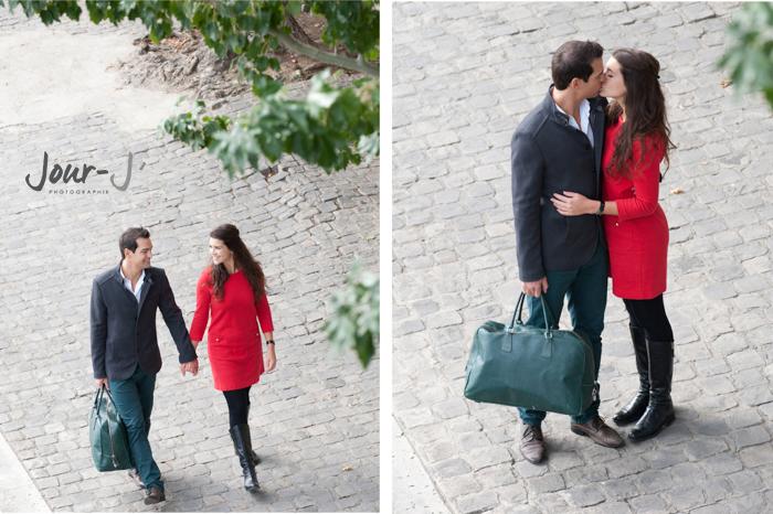 photographe-couple-paris-Séance de portraits dans Paris