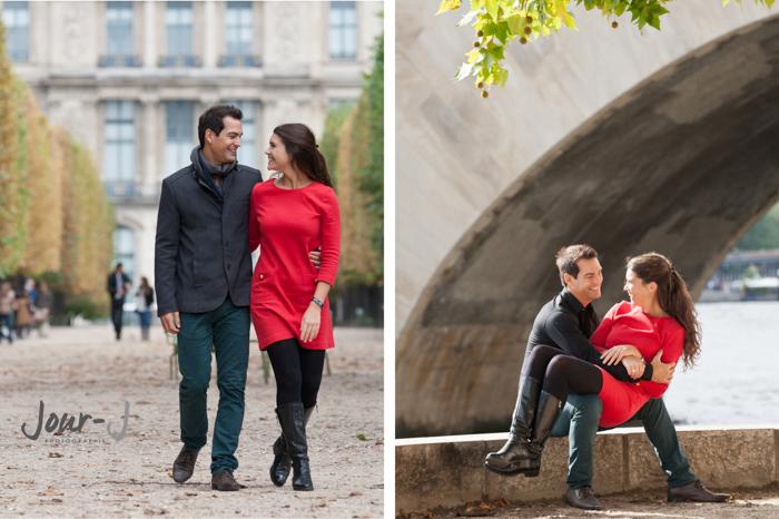 seance-photo-amoureux-paris-Séance de portraits dans Paris